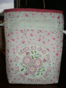 'Precious Things' sewing bag, pattern by Leanne Beasley